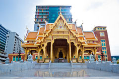 The beautiful of Royal Thai Pavilion in Siriraj Hospital, Bangko Stock Photography