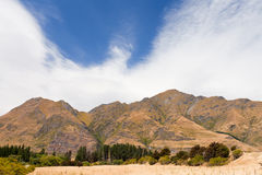 Beautiful Roys Peak near Wanaka, Southern Alps, NZ Stock Images