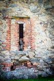 Beautiful Ruin. An old beautiful ruin brick wall Stock Photography
