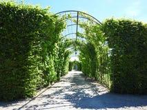 Beautiful Rundale palace park, Latvia Royalty Free Stock Photos
