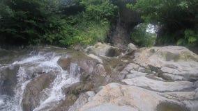 Beautiful running waterfall