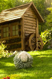 Beautiful rural cottage Royalty Free Stock Photo