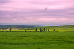 Beautiful rural landscape Royalty Free Stock Images