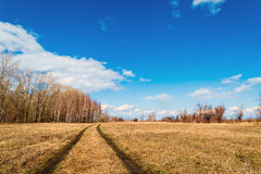 Beautiful rural landscape Royalty Free Stock Photography