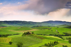 Beautiful rural landscape of Tuscany. Italy Stock Image