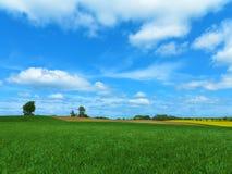 Beautiful rural landscpe Royalty Free Stock Images