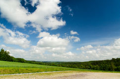 Beautiful rural summer landscape Royalty Free Stock Images