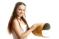 The beautiful Russian girl Stock Photo