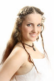 The beautiful Russian girl Royalty Free Stock Photography