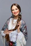 Beautiful russian girl Stock Photography