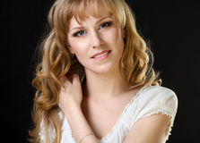 Beautiful russian girl Royalty Free Stock Photography