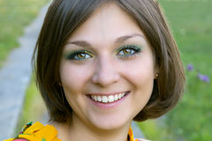 Beautiful Russian girl Stock Photos