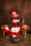 Beautiful russian girl Stock Image