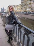 Beautiful Russian girl Royalty Free Stock Photo