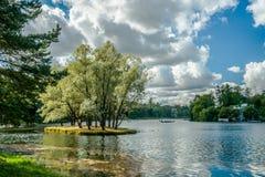 Beautiful russian landscape Stock Photography
