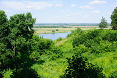 Beautiful russian landscape Royalty Free Stock Images
