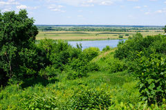 Beautiful russian landscape Royalty Free Stock Photo