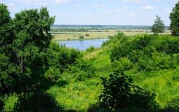 Beautiful russian landscape Royalty Free Stock Image