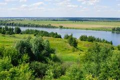 Beautiful russian landscape Stock Photos