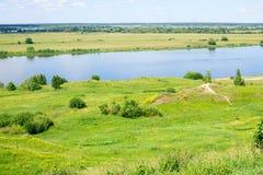 Beautiful russian landscape Stock Photo