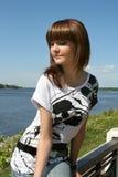 Beautiful Russian model Stock Photos