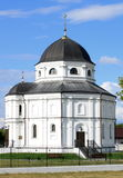 Beautiful Russian village church Royalty Free Stock Image