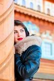 Beautiful Russian woman Royalty Free Stock Image