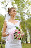 Beautiful russian young bride Royalty Free Stock Photo