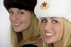 Beautiful Russians royalty free stock photos