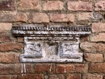 Beautiful and rustic ncient Nepali architectural detail Royalty Free Stock Images