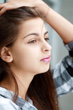 Beautiful sad girl Royalty Free Stock Photography