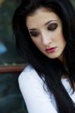 Beautiful sad woman Stock Photography