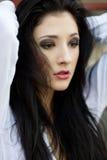 Beautiful sad woman Royalty Free Stock Photo