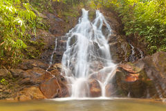 Beautiful Sai Rung waterfall Royalty Free Stock Image