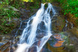 Beautiful Sai Rung waterfall Royalty Free Stock Photography