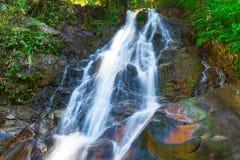 Beautiful Sai Rung waterfall Royalty Free Stock Photography