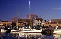 Beautiful Sailboat-Annapolis Stock Image