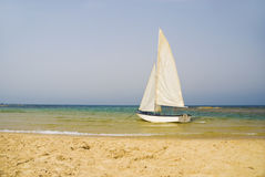 Beautiful sailboat royalty free stock images