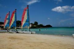 Beautiful sailboats Stock Photos