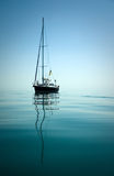A beautiful sailing boat Stock Images