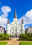 Beautiful Saint Louis Cathedral in the French Quarter in New Orl Royalty Free Stock Image