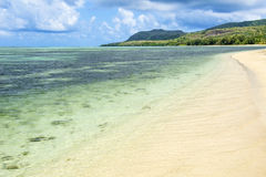 Beautiful Saipan Beach Royalty Free Stock Photo