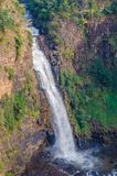 Beautiful Sala water falls near Labe in the Fouta Djalon region of Guinea, West Africa Stock Image