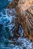 Beautiful salty sea Stock Image