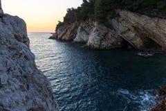 Beautiful salty sea Stock Photo
