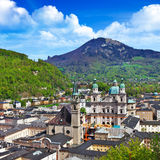 Beautiful Salzburg, Austria Stock Images