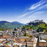 Beautiful Salzburg, Austria Royalty Free Stock Image