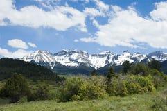 Beautiful San Juans. San Juan Mountains in June Stock Photo