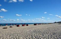 Beautiful South Florida Beach Royalty Free Stock Photo