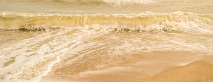 Beautiful sand beach (sandy) Royalty Free Stock Images